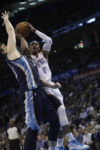 Russell Westbrook, Marc Gasol