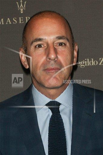 PGroup Diego Corredor / MediaPunch/MediaPunch/IPx A ENT NY USA IPX Matt Lauer Fired From NBC