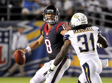 Matt Schaub, Richard Marshall