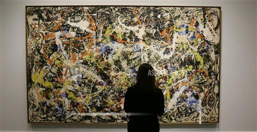 Pollock Black Paintings