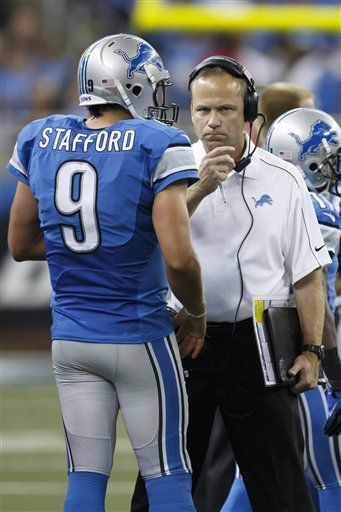 Matthew Stafford, Scott Linehan