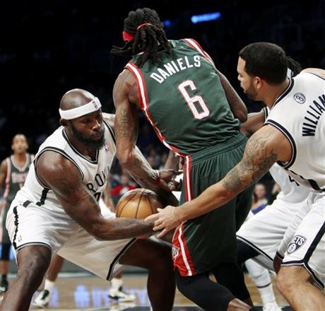 Reggie Evans, Marquis Daniels, Deron Williams