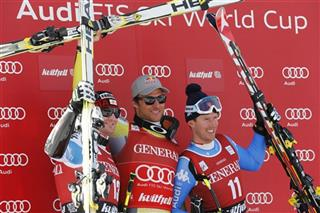 Georg Streitberger, Aksel Lund Svindal, Werner Heel