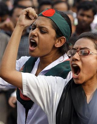 Bangladesh Execution Protests