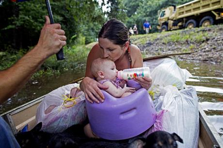 Louisiana Flooding Warming