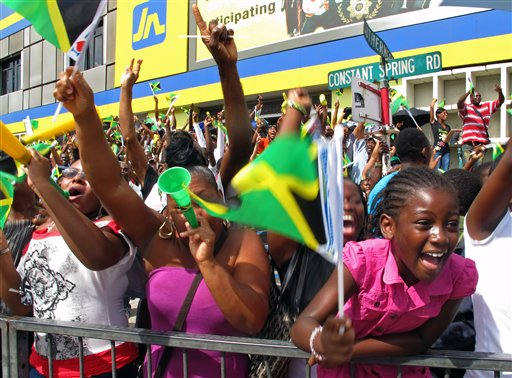 Jamaica Bolt Celebration