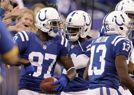 Reggie Wayne, Donnie Avery
