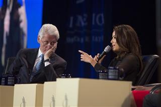 Bill Clinton, Eva Longoria