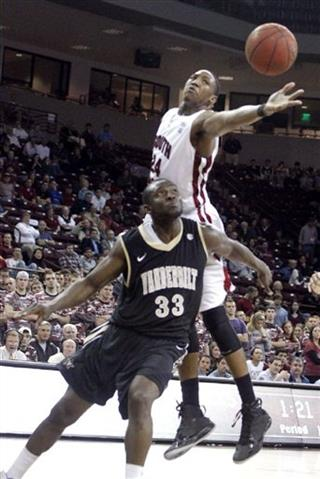 Vanderbilt South Carolina Basketball