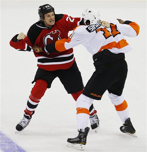 David Clarkson, Wayne Simmonds