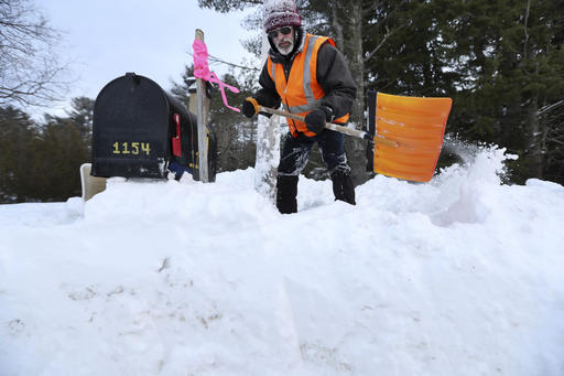 Northeast digging out from latest blast of winter weather