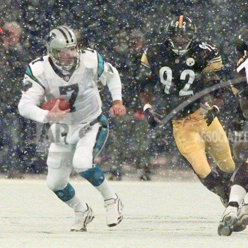 Associated Press Sports Pennsylvania United States NFL football PANTHERS STEELERS