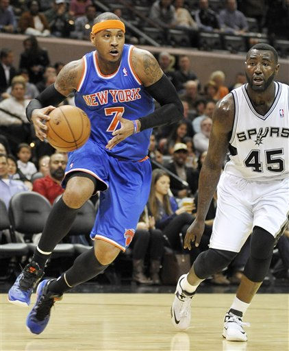 Carmelo Anthony, DeJuan Blair