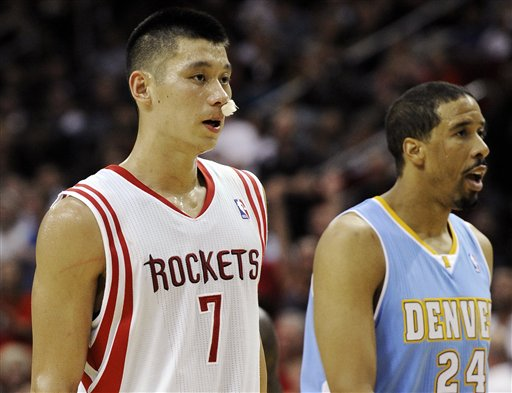 Nuggets Rockets Basketball