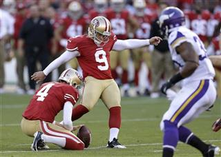 Phil Dawson, Andy Lee