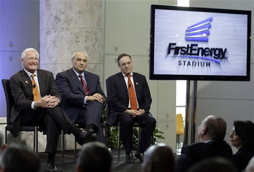 Jimmy Haslam, Tony Alexander, Joe Banner