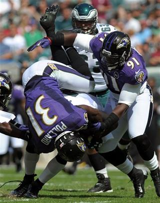 Ravens Eagles NFL Football