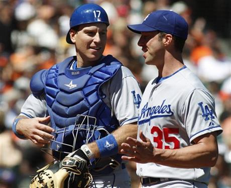A.J. Ellis, Chris Capuano