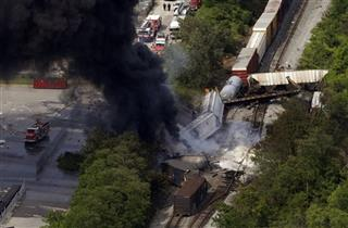 Train Derailment Maryland