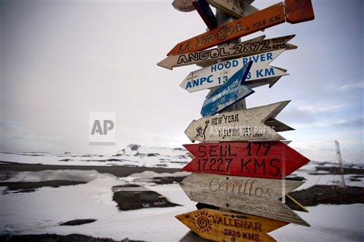 APTOPIX Antarctica Mysteries Photo Essay