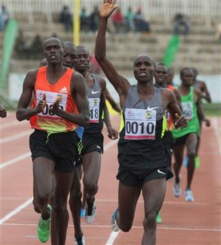 Kenya  Trials for Olympic Games