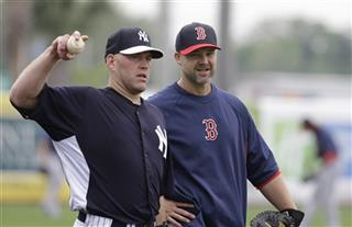 Kevin Youkilis, David Ross