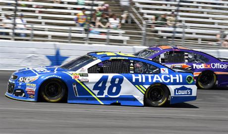 Jimmie Johnson, Denny Hamlin
