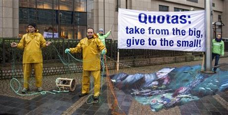 Belgium EU Greenpeace Fisheries