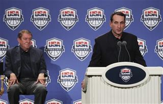 Mike Krzyzewski, Jerry Colangelo, Team USA, Basketball, Olympics 