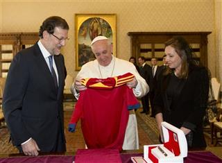 Vatican Spain Pope
