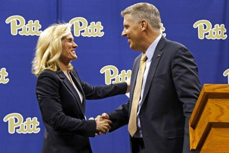 Heather Lyke, Patrick Gallagher