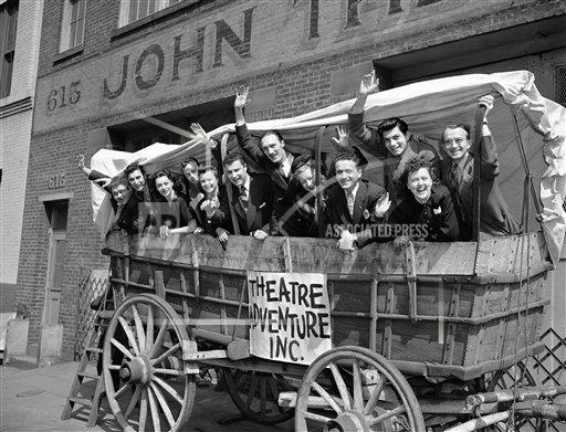 Watchf AP A  NY USA APHS366674 Theatre U.S. Broadway   Covered Wagon