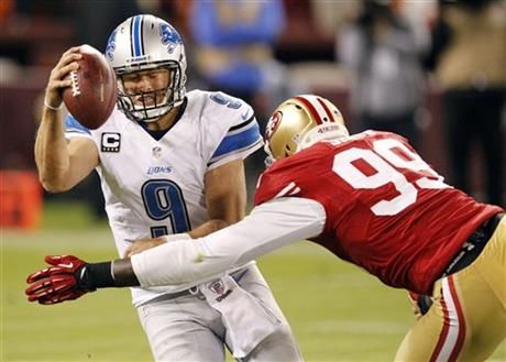 Matthew Stafford,  Aldon Smith