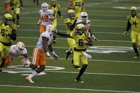 Tennessee Oregon Football