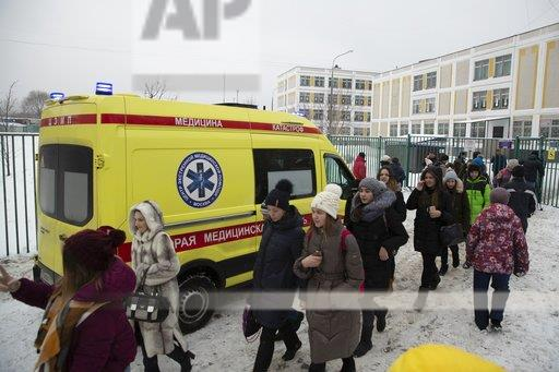 Russia School Incident