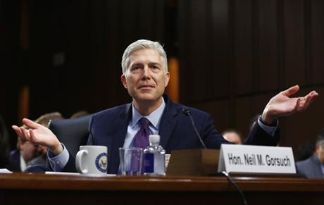 'No man is above the law,' Trump's Supreme Court pick says