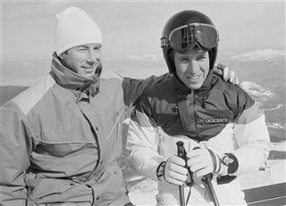 Bill Johnson and Ingemar Stenmark 1984