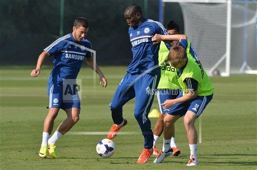 CHELSEA AP Images S SOC  England EMP_TRAIN_014.JPG Soccer - Chelsea FC Pre Season Training Session - Cobham Training Ground