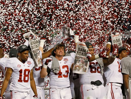 bcs rankings national college football championship game