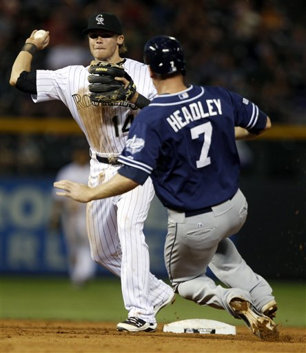 Josh Rutledge, Chase Headley