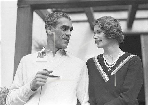 Watchf AP A ENT CALIFORNIA USA APHS87144 Karloff And Wife 1932