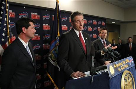 Mark Poloncarz, Robert Duffy, Russ Brandon