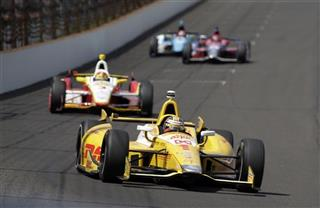 Ryan Hunter-Reay, Helio Castroneves