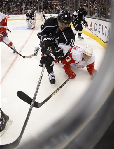 Anze Kopitar, Pavel Datsyuk