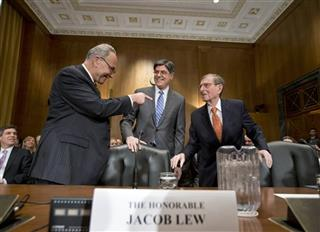 Jacob Lew, Pete Domenici, Chuck Schumer