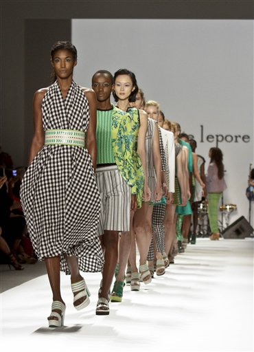 Fashion Nanette Lepore Spring 2013