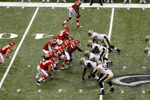 Chiefs Saints Football