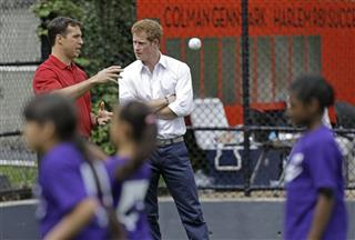 Mark Teixeira, Prince Harry