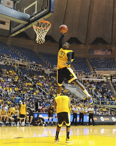 WVU basketball conducts Gold and Blue Debut