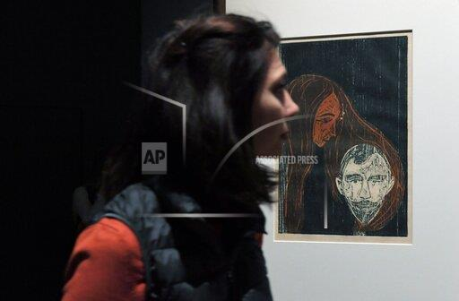 Russia Edvard Munch Exhibition